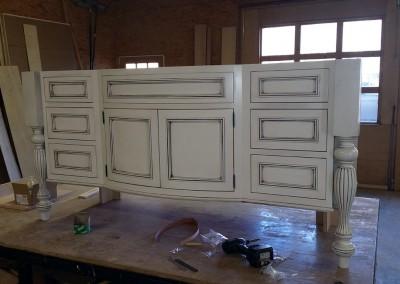 Refinishing Cabinet