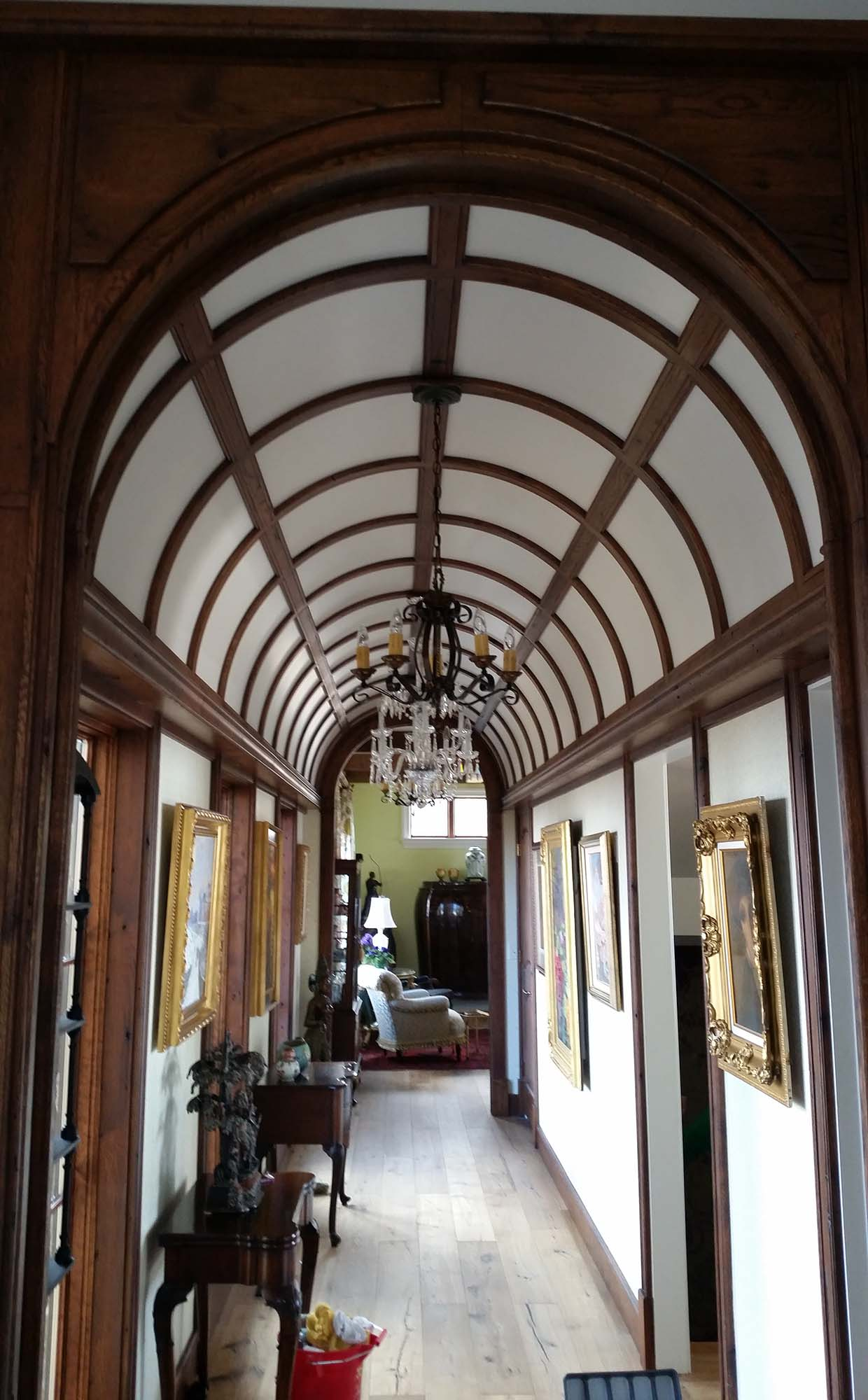 Barrel Vault Wood Ceilings