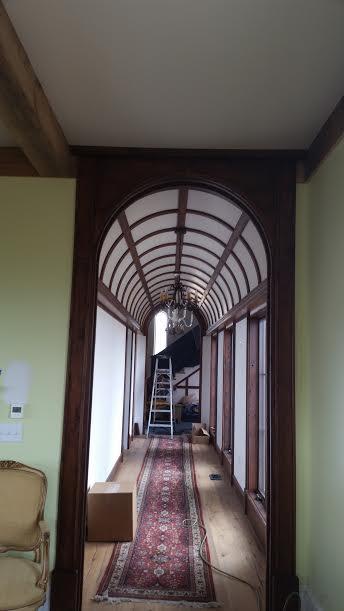 Wood Ceiling Arch