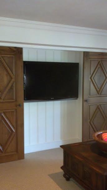 Custom Wood Doors Open