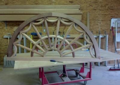 Wood Arch Frame