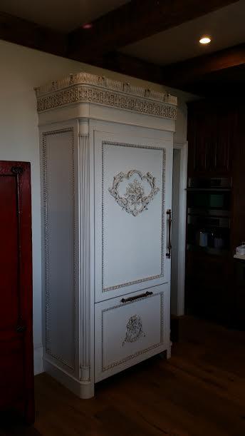Wood Refrigerator Door